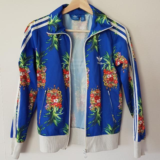 Adidas Originals Size 36 Jacket With Limited Edition Print