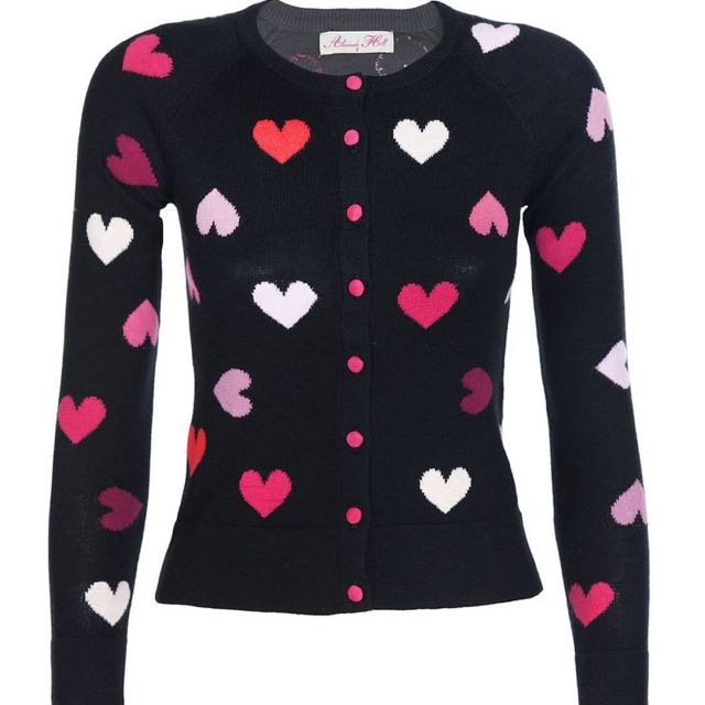 Alannah Hill Heart Cardigan