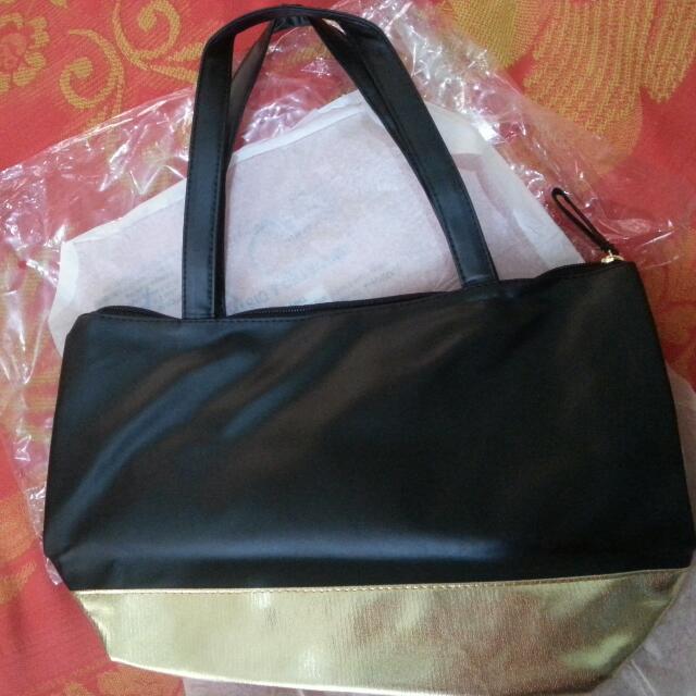 Avon 24k Gold Tote Bag