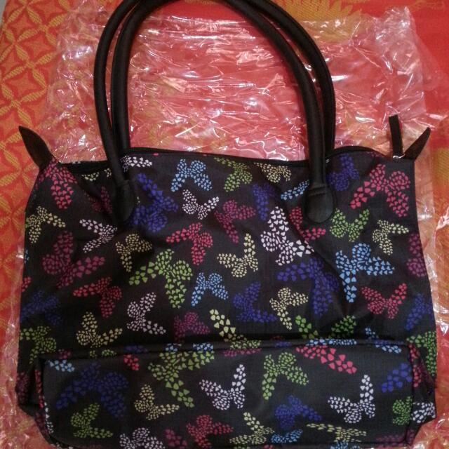 Avon SSS Butterfly Prints Tote Bag
