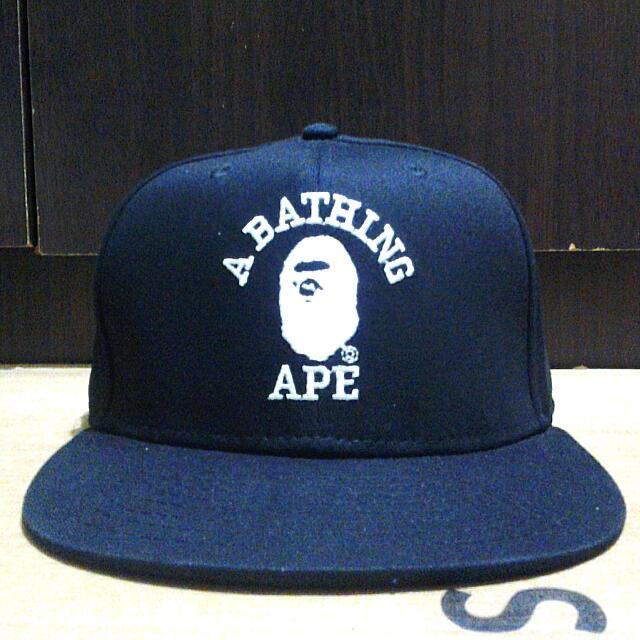 Bape A Bathing Ape Snapback Mens Cap adb80428c3e