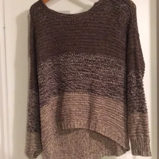 Beige // Tan Sweater (large)