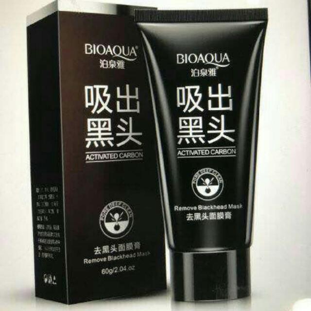 Bioaqua Remove Blackhead Mud Mask / Masker Lumpur Bio Aqua