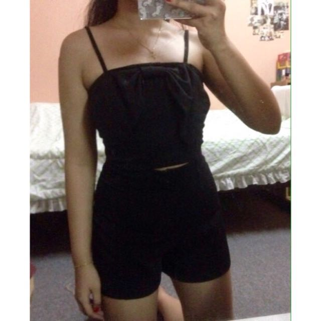 Black Bow Top💕