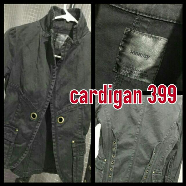 Black Cardigan Repriced 199!!!