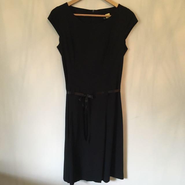 Black Cue Size 10 Dress