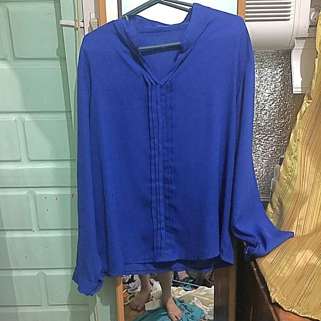 Blouse  Blue Small
