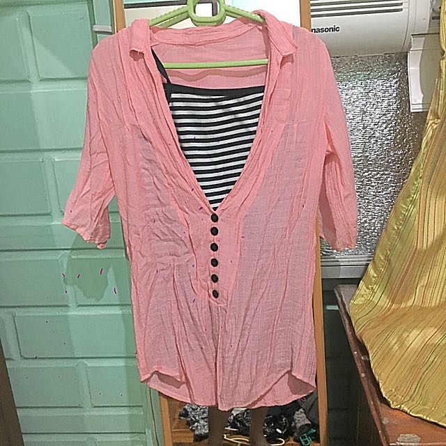 Blouse (sleeveless Included) (small)
