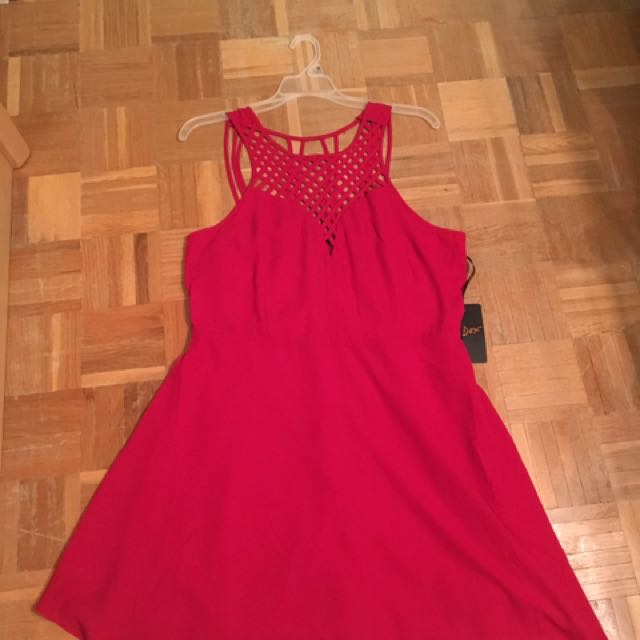 BNWT Red Party Dress (Hudson's Bay)