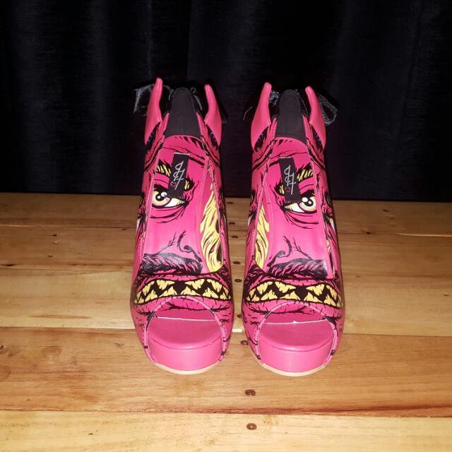 Brand New Iron Fist Heels