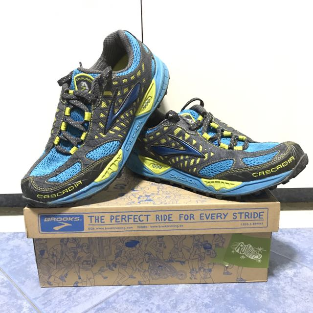 57cfe2c13d1 BROOKS Cascadia 7 (Trail Running) — Men s US 8.5