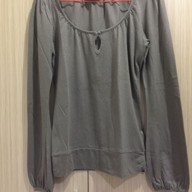Brown Top Size M