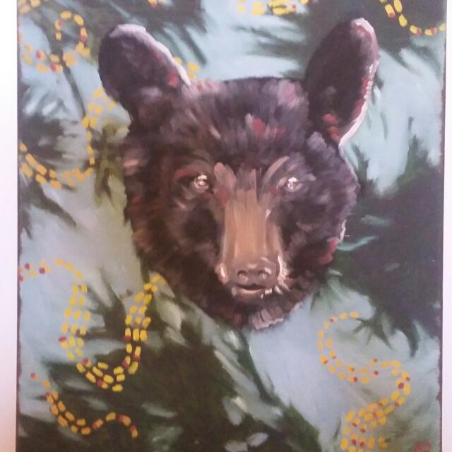 Brown Wolf Paint