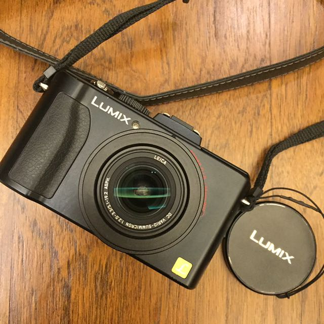 Camera Lumix LX5 (black) lensa LEICA