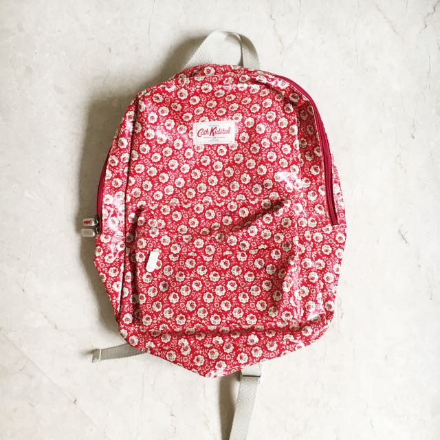 CATH KIDSTON Red Backpack