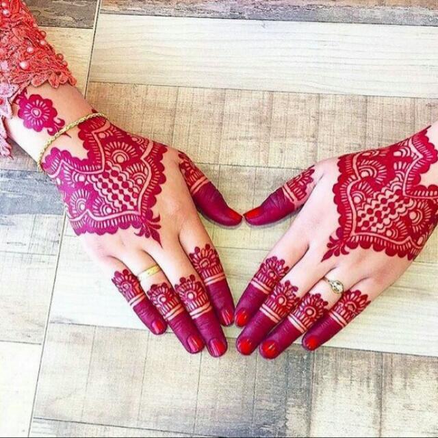 Cetakan Tangan Henna
