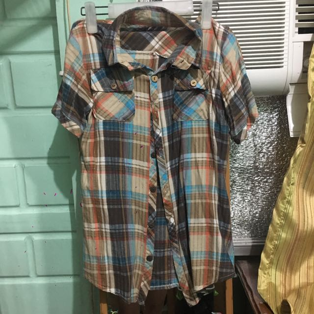 Checkered Blouse (small)