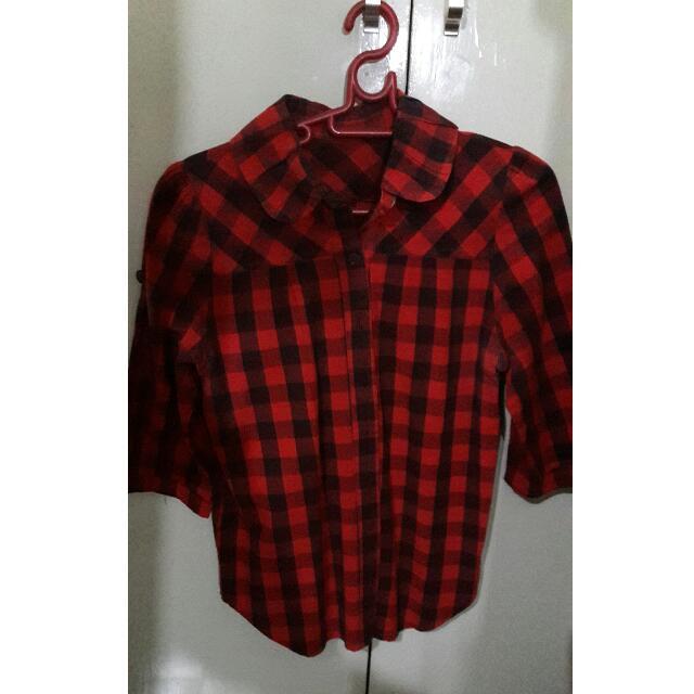 Checkered Plaid Shirt