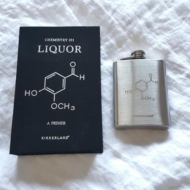 Chemistry Book Flask - Kikkerland Design Inc.