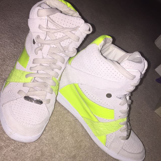 Coach Sneakers On Heels