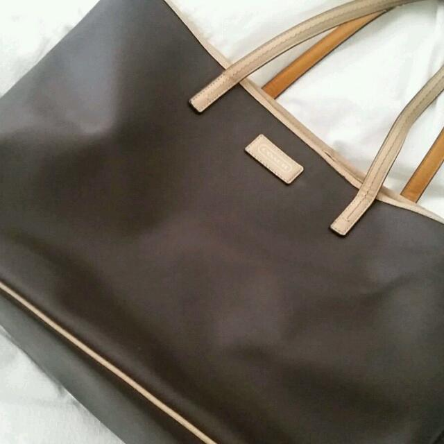 Coach Tote Leather Bage