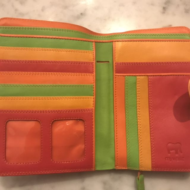 Colorful Wallet (made in france)
