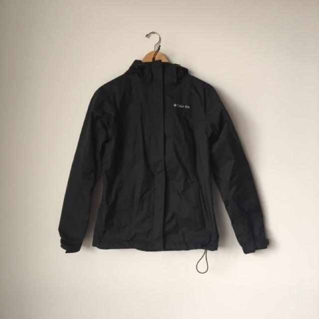 Columbia Rain Jacket - Black