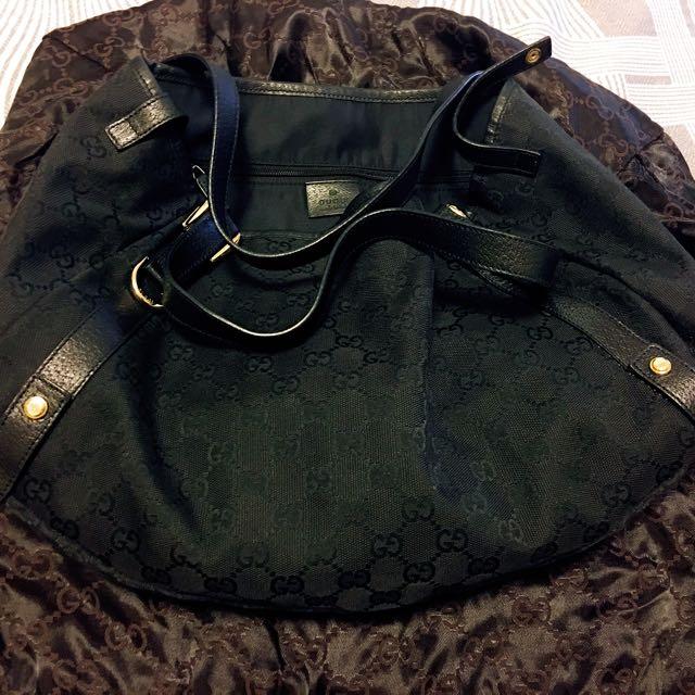 Gucci 黑色晚宴手提肩背包#我有正品名牌包要賣#