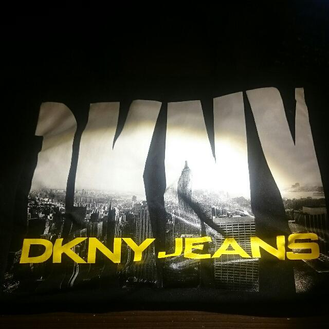 D K N Y購物帆布包