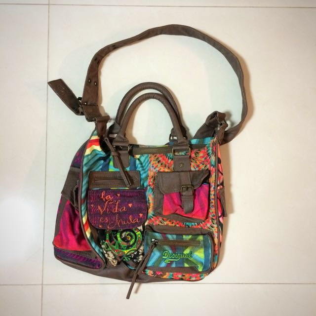Desigual Colorful Sling Bag