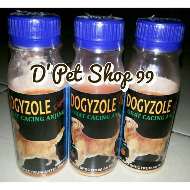 Dogyzole Liquid Sirup Obat Cacing Utk Anjing Rasa Jeruk Perlengkapan Hewan Aksesoris Hewan Di Carousell