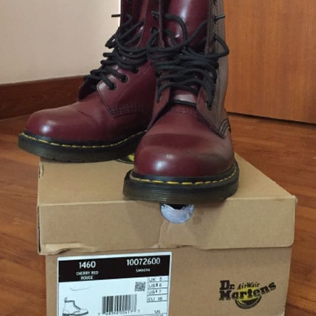 Dr Martens Cherry Red 1460