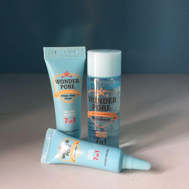 Etude Wonder Pore Trial Kit