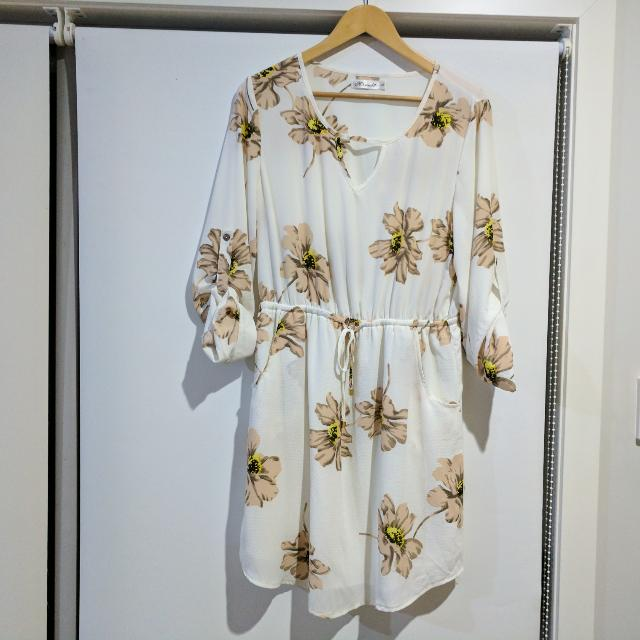 Floral Tunic Dress Size 12