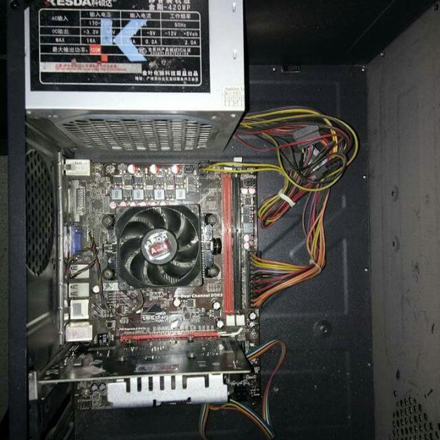 Fm2 Cpu & Monitor