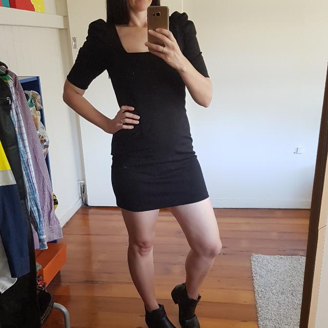 Forever New Size 10 Black Dress