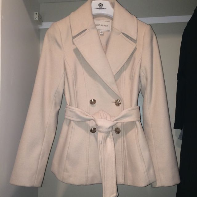 Forever New size 8 coat