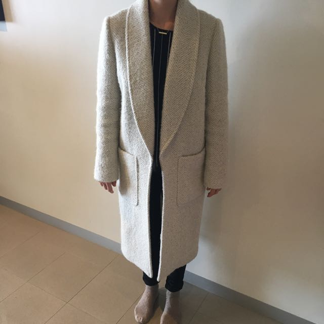 Forever New Wool Coat Size 10
