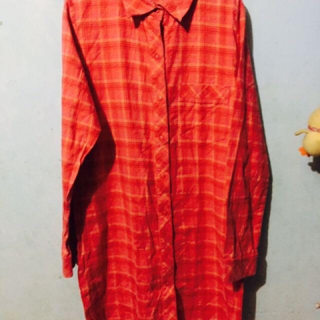 Fuchsia long Sleeve Dress (triumph)