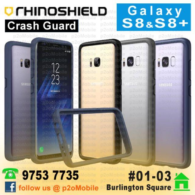 more photos 790c3 65ca5 (Galaxy S8 | S8+) Rhinoshield Crash Guard for Galaxy S8+ | S8