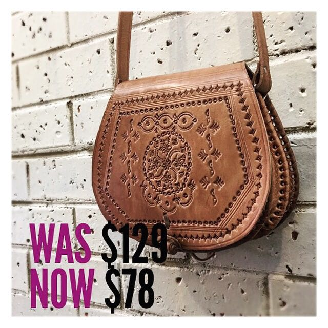 Gorgeous Handmade Moroccan Leather Bag Women S Fashion Bags Wallets On Carou