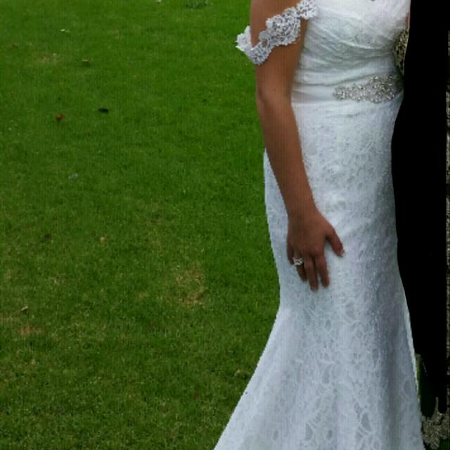 Handmade Lace Gown
