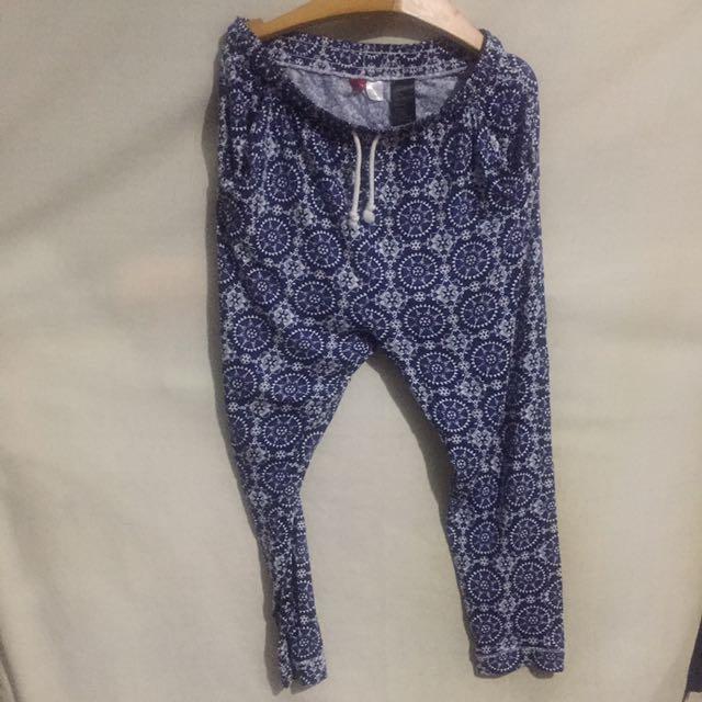 H&M 民族風哈倫褲