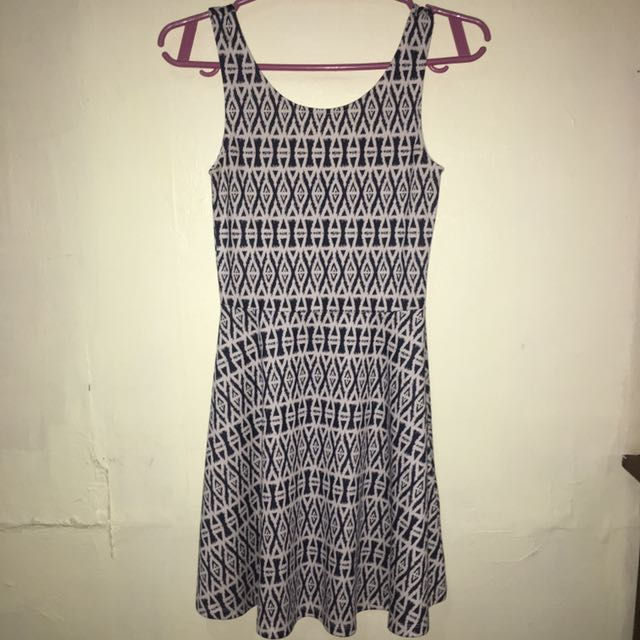 H&M Aztec Printed Skater Dress [Authentic]