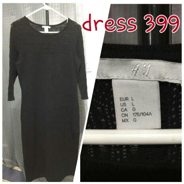 HM Black Dress Sale 199