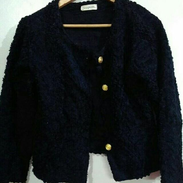 Imported Black Blazer