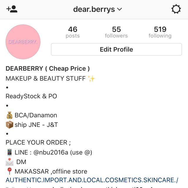 INSTAGRAM @dear.berrys