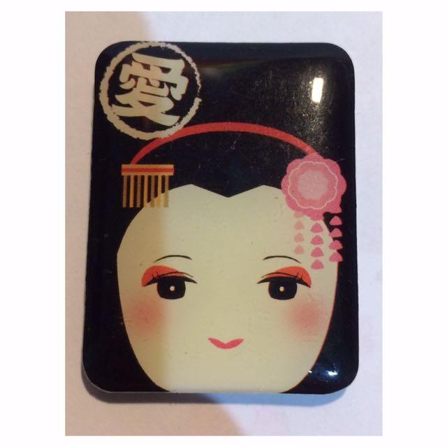 Japanese Geisha Fridge Magnet