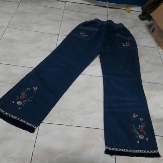 Jeans ank nanggung