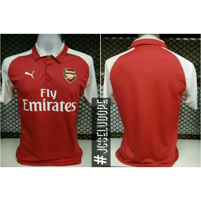 buy online 84a8f dd29a JERSEY ARSENAL FC HOME KIT 2017/2018 (Leaked!!)